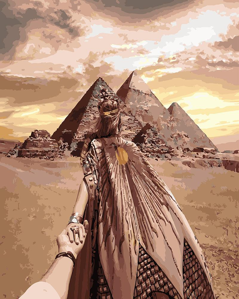 Картина рисование по номерам Brushme Следуй за мной. Императрица египта GX26289 GX26289     BK-GX26289 набор
