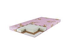 Детский матрас Кокос+Поролон+Гречка (120x60x7см)