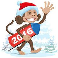 Сувеніри Новий рік 2016г магніти,шкатулки дошки,вічний календар.