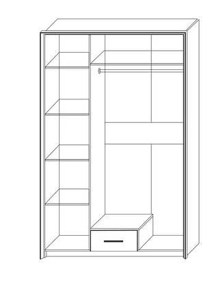 Шкаф 3Д Скарлет Сокме, фото 2