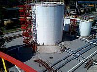 Ремонт стальных резервуаров, баков, емкостей