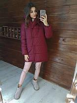 Зимова жіноча куртка зефирка хіт сезону, фото 3