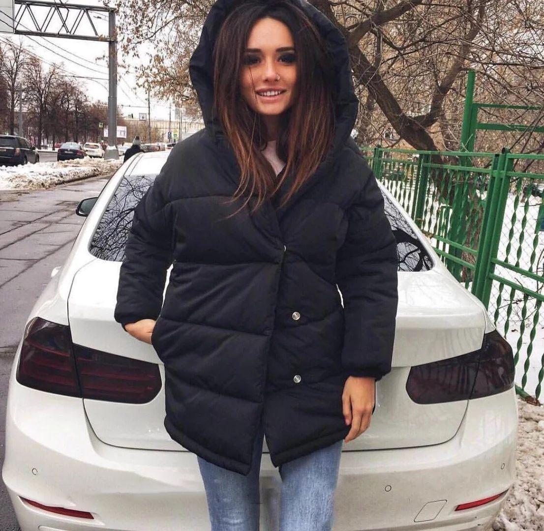 Зимова жіноча куртка зефирка хіт сезону