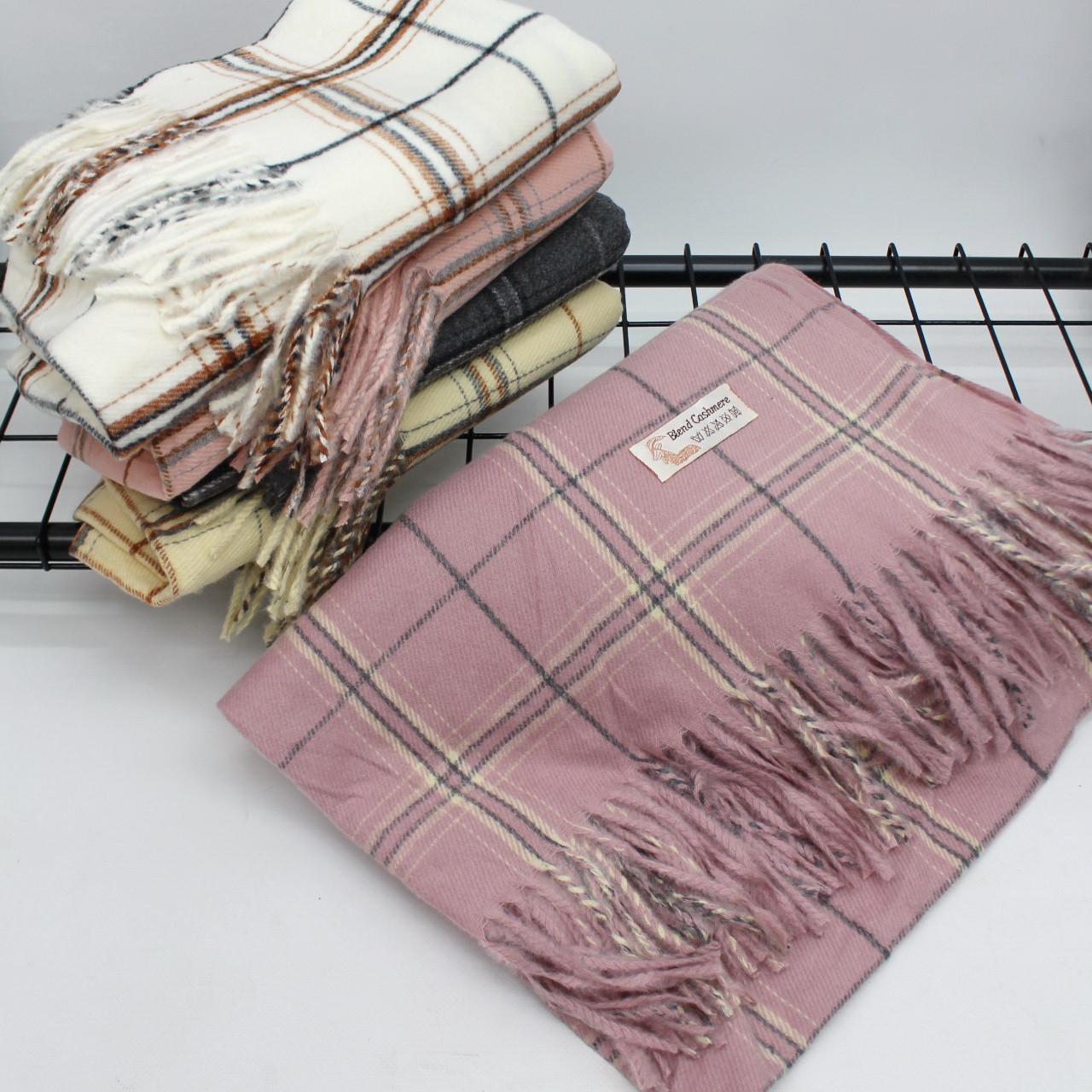 Кашемировый теплый шарф палантин  Cashmere 139005