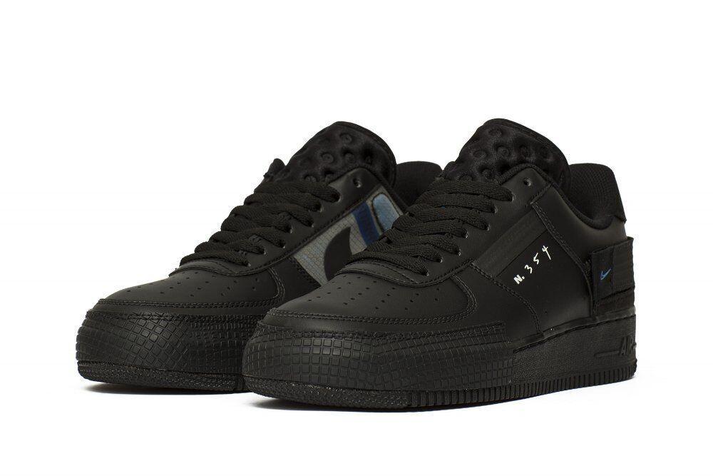 Кроссовки Nike Air Force 1 Type Реплика 39 Black (hub_yv02yb)