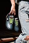 Кроссовки реплика Nike Air Force 1 Vandalized Iridescent 38 Green Black (hub_it73hu), фото 4
