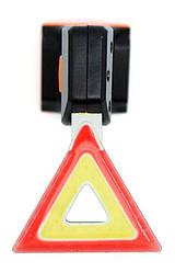 Стоп / Мигалка велосипедная задняя Треугольник YB002-A (LED Bicycle Tail Lamp)