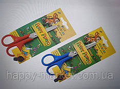 Ножиці дитячі № 51058L ДЛЯ ЛІВШІВ на блістері 13,5 см Peppy Pinto