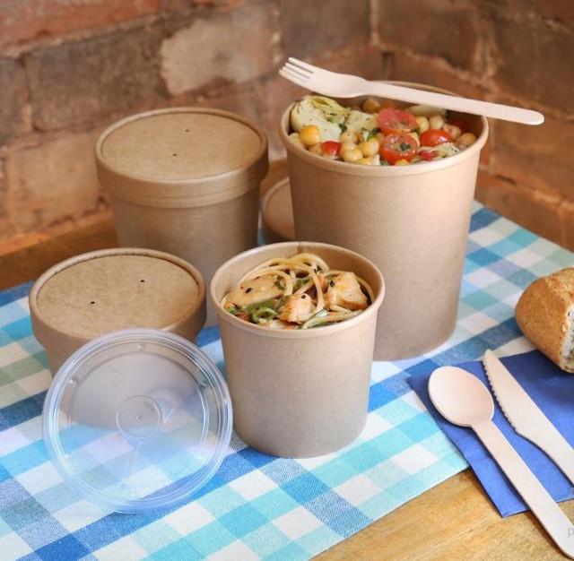 Бумажная упаковка для супа