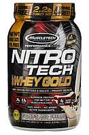 MuscleTech Nitro-Tech 100% Whey Gold 1000g
