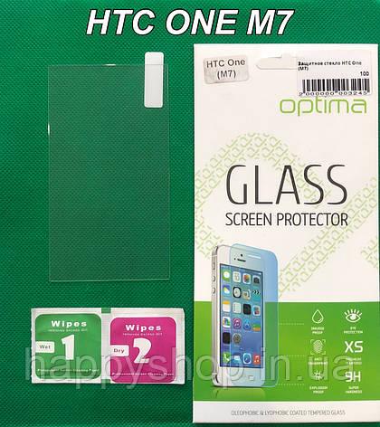 Защитное стекло для HTC One M7, фото 2