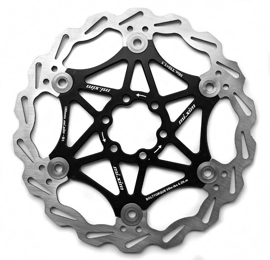 Ротор на павука MiXim, плаваючий, 180 мм, чорний