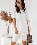 Женский набор (с 40 по 46рр) футболка + короткие леггинсы, фото 3