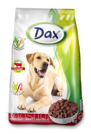 Сухой корм для собак Dax Beef Дакс Говядина 10 кг, фото 2