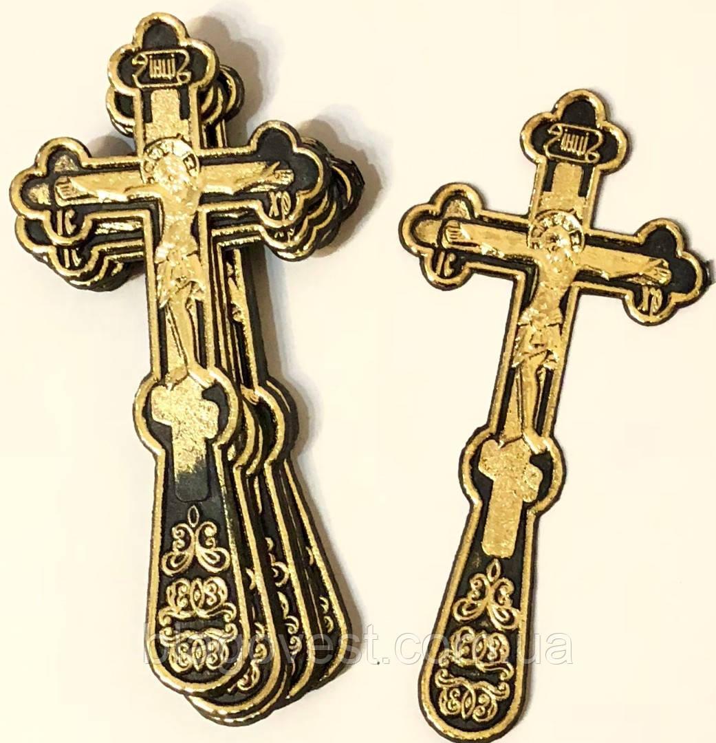 Хрест похоронний золоч.