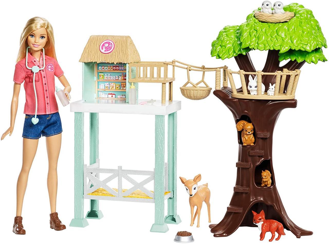 Барби Центр ухода за животными Barbie Pet Rescue Center Playset with Doll