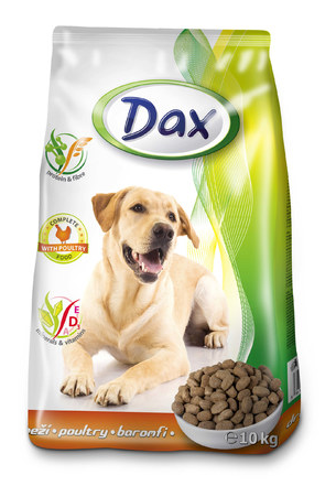 Сухий корм для собак Dax Poultry Дакс Курка 10 кг, фото 2