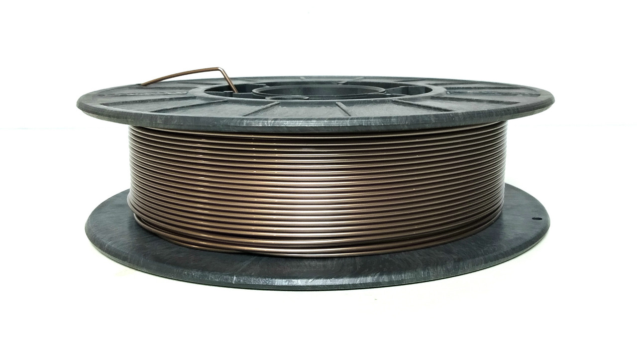 Нить PETG (CoPET, ПЕТГ) пластик для 3D печати, Бронзовый (1.75 мм/0.5 кг)