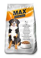 Сухой корм для собак MAX со вкусом курицы 10 кг