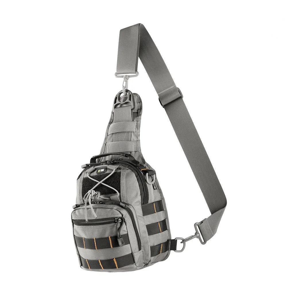M-Tac сумка Urban Line City Patrol Carabiner Bag Grey