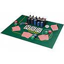 Настольная игра Покер , фишки, карти 2 колоды, полотно, фото 3