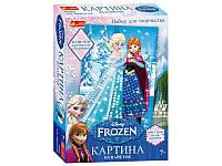 "Картинка из пайеток Frozen ""Анна и Эльза"" 15162005Р 4748-09"