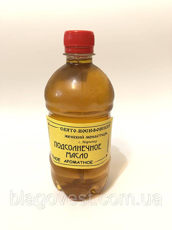 Олія соняшникова, смажене ароматне (монастирське)