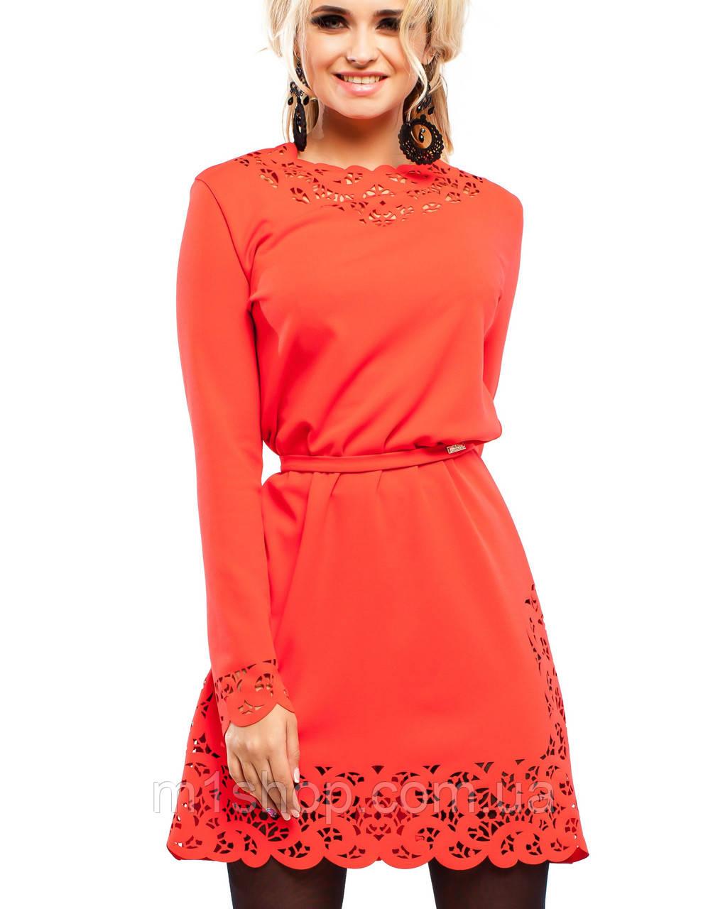 Платье с перфорацией | Фарина jd