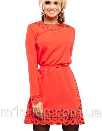 Платье с перфорацией | Фарина jd, фото 2