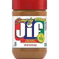 Арахисовая паста Simply Jif Creamy Peanut Butter 440g, фото 1