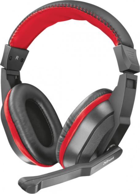 Навушники Trust Ziva Gaming Headset Black-Red