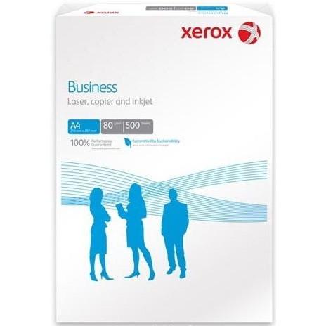 Бумага офисная А4, 80 г/м2, Xerox Business, 500 листов