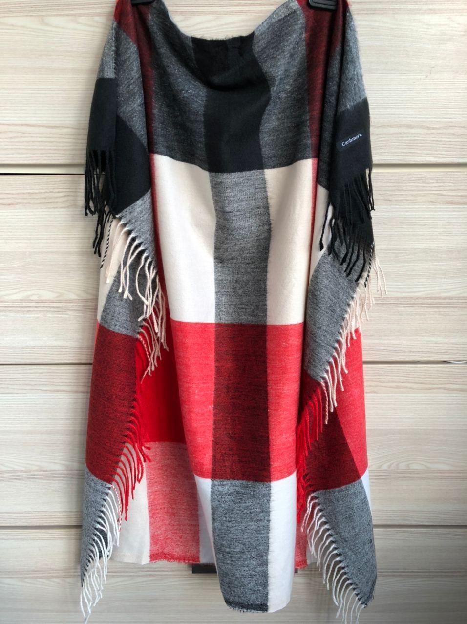 Кашемировый теплый платок Cashmere 213003