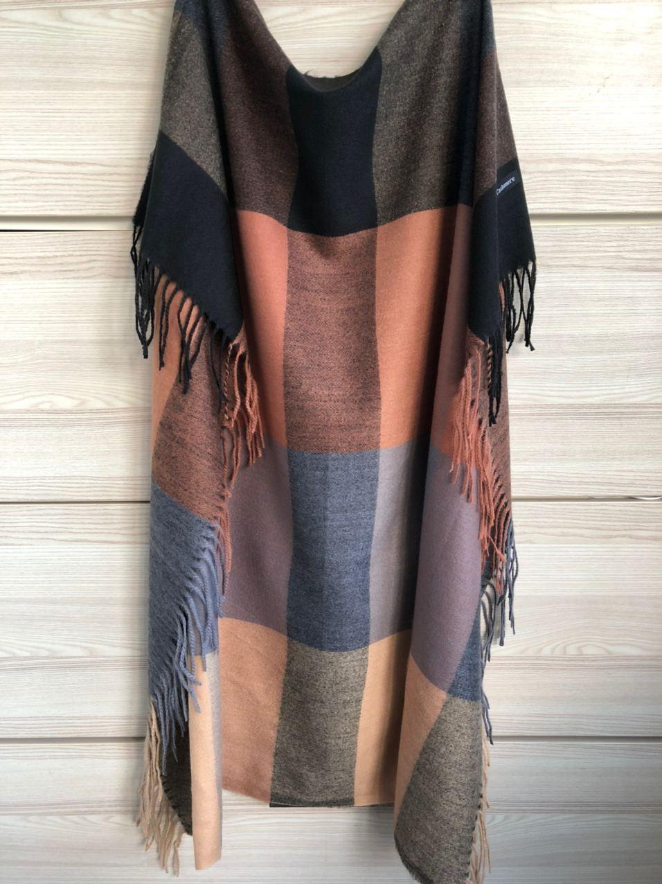 Кашемировый теплый платок Cashmere 213009