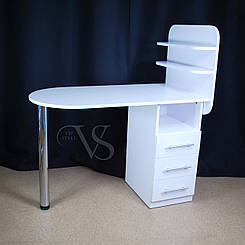 Раскладной стол для маникюра. 105*55 высота 73 см.