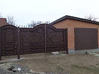 Кованые ворота и калитка не дорого