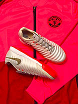 Футзалки Nike Tiempo X/футбольная обувь/найк темпо, фото 2