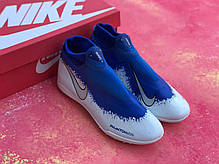 Сороконожки Nike Phantom VSN с носком / футбольная обувь, фото 2