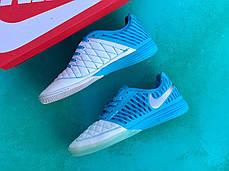 Футзалки Nike Lunar Gato II/найк лкнар гато/футбольная обувь/залки, фото 2