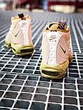 Мужские кроссовки  Nike Air Max Sneakerboot 95 бежевые (копия), фото 6