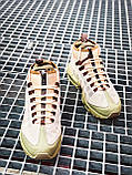 Мужские кроссовки  Nike Air Max Sneakerboot 95 бежевые (копия), фото 7