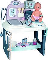 Большой детский набор доктора врача для ухода и лечения куклы Smoby 240300