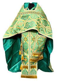 Облачение иерейское 2 метанить Зеленый (52:150)(56:155)(54:150)