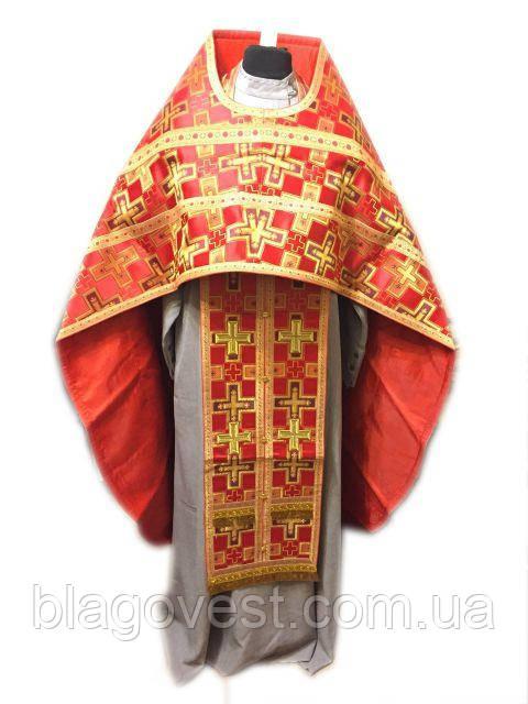 Одяг ієрейське 2 метанить Червоний (54:150)(52:150)(56:155)