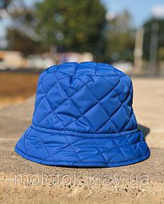 Зимова панамка синя