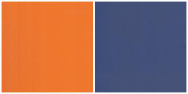Оранжевый/Стальной синий