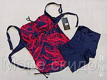 1Танкини с шортами 68120 FUBA Диана красный (В НАЛИЧИИ ТОЛЬКО  52 54 56 58 60 размеры)