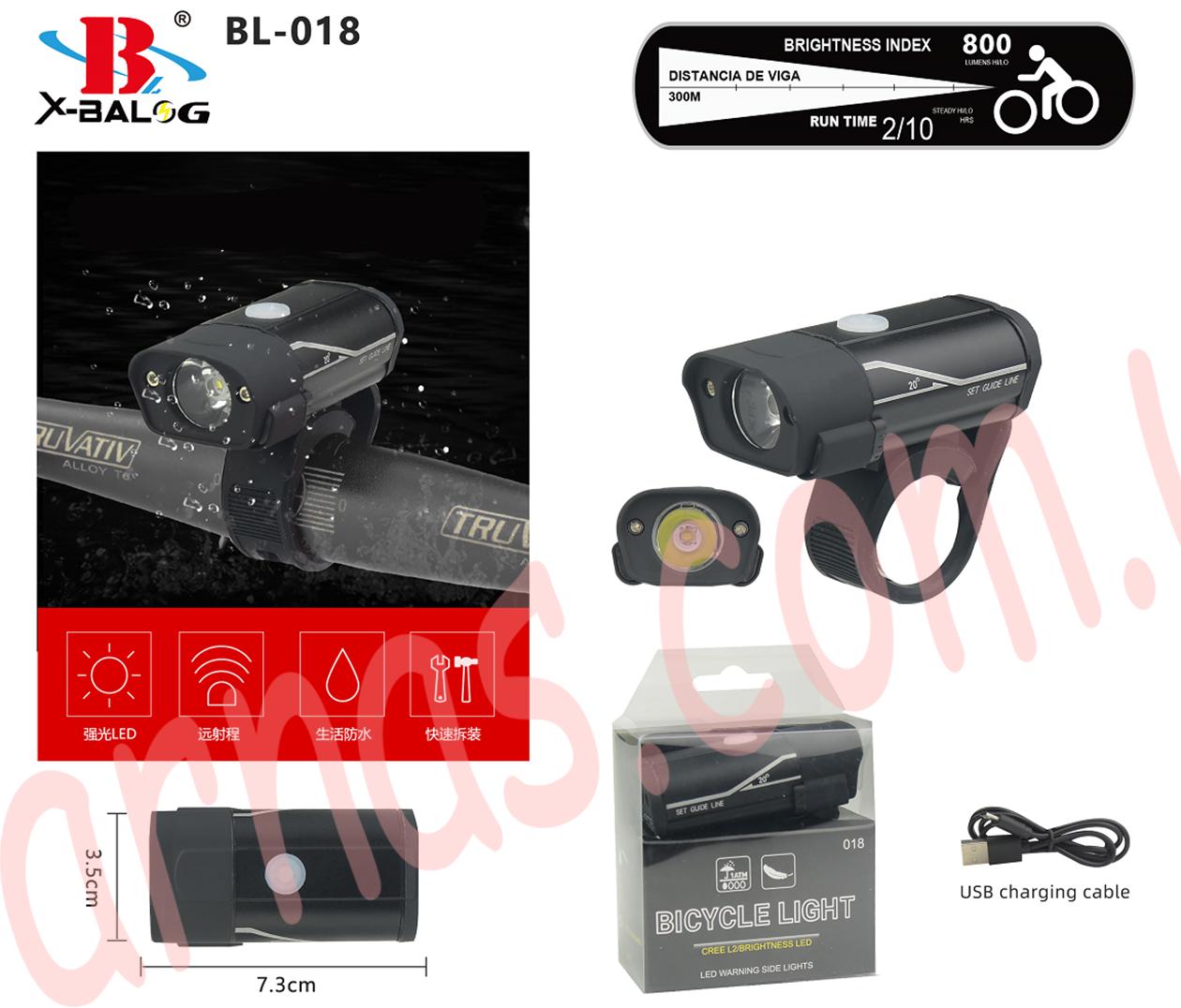 Фонарь велосипедный 018