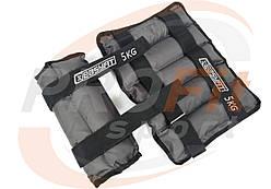 Утяжелители EasyFit МЕТАЛЛ 0,5-5кг -наборные/фиксированные для рук/ног