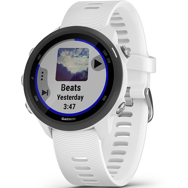 Беговые часы Garmin Forerunner 245 Music White